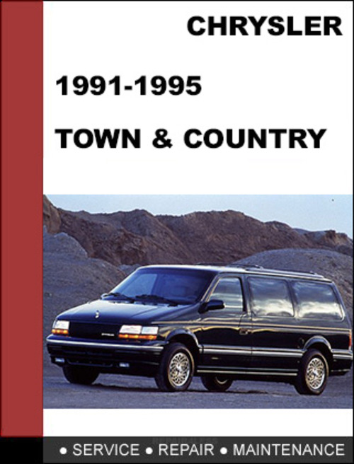 service manual 1992 chrysler town country manual. Black Bedroom Furniture Sets. Home Design Ideas