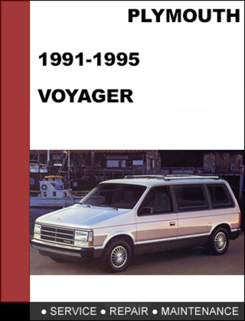 plymouth voyager 1991 1995 factory service workshop repair. Black Bedroom Furniture Sets. Home Design Ideas