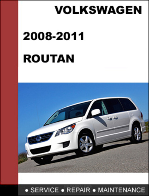 volkswagen routan 2008 2011 factory service workshop. Black Bedroom Furniture Sets. Home Design Ideas
