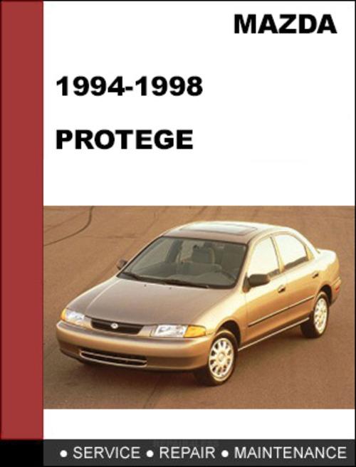 mazda protege 1994 1998 factory service workshop repair. Black Bedroom Furniture Sets. Home Design Ideas