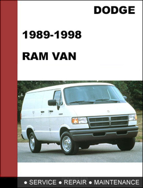 dodge ram van 1989 1998 factory service workshop repair. Black Bedroom Furniture Sets. Home Design Ideas