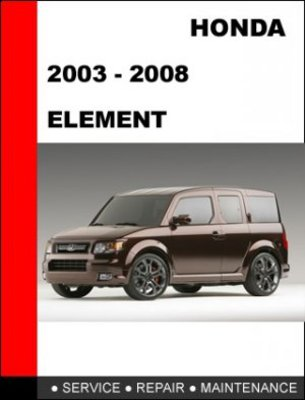 element manual maintenance free owners manual u2022 rh wordworksbysea com 2005 Honda Element Coil Locations Honda 3013 Hydrostatic Manuals
