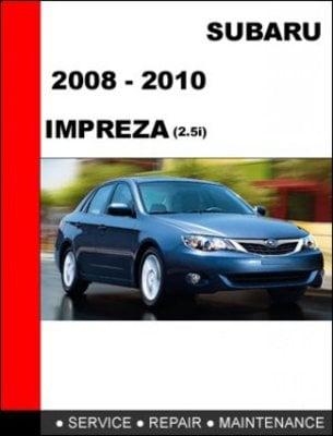 2008 2009 2010 subaru impreza 2 5i service repair manual download rh tradebit com 2010 subaru wrx service manual 2010 subaru forester service manual pdf
