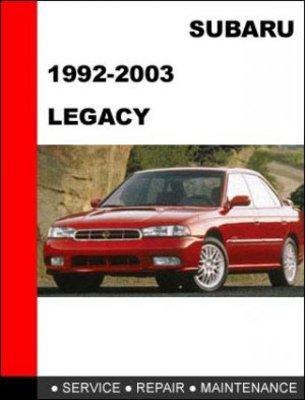Pay for 1992-2003 Subaru Legacy, L, GT Factory Service Repair Manual