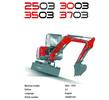 Thumbnail Neuson 2503 3003 3503 3703 Compact Excavator Service manual