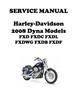 Thumbnail 2008 Harley Davidson Dyna Models Repair Service Manu 99481