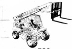 Thumbnail JCB LOADALL 525 525-4 530-2/4 530-2HL/4HL Parts Manual