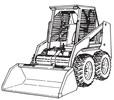 Thumbnail 7 5 3 753 Skid Steer Loader  SERVICE  Repair MANUAL