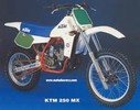 Thumbnail 250 MX MXC GS 1984 Repair Service Manual