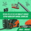 Thumbnail 7FD FG 35- 35-50 Forklift Service Repair Workshop Manual PDF