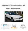 Thumbnail A4 B5 Repair Service Manual 1994-2001
