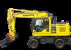 Thumbnail PW180-7E0 WHEELED EXCAVATOR SERVICE REPAIR MANUAL