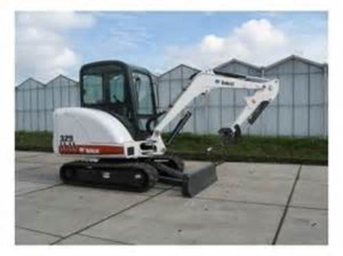 Pay for 329 Compact Excavator Service Manual  S/N AACL11001