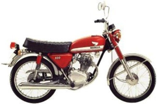 Pay for CB100 CL100 SL100 CB 125 S CD 125 S SL125 Service manual 71