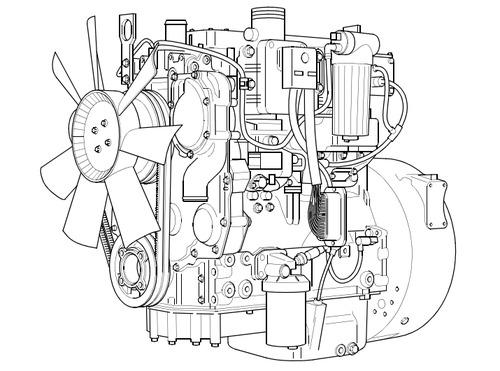 1100 Series Diesel Engine  Re-rg  Repair Manual