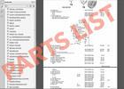 Thumbnail PARTS LIST FORD FOCUS 2012 - 2014