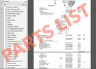 Thumbnail Parts list FORD TAURUS 2001-2007