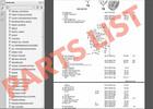 Thumbnail PARTS LIST AUDI TT,TTS,TTRS 2008-2014