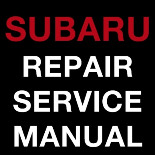 Pay for SUBARU OUTLANDER 2007-2011 FACTORY REPAIR SERVICE MANUAL