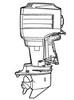 Thumbnail Yamaha Outboard 25J 30D 25X 30X Service Manual