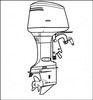 Thumbnail Yamaha Outboard 40v 50H 40W 50W Service Manual