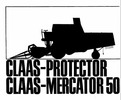 Thumbnail Claas Protector Mercator 50 Parts Catalog