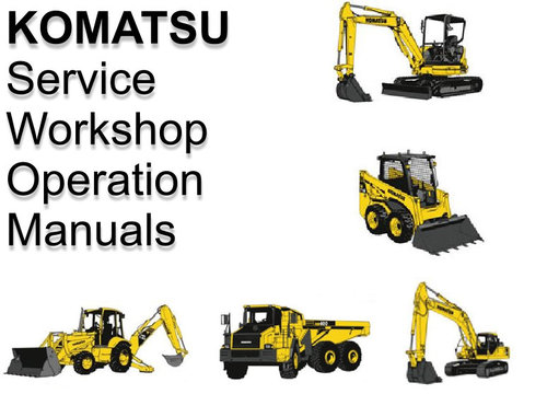 Pay for Komatsu PC450 PC450LC-6K Workshop Manual