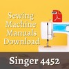 Thumbnail  singer 4452 sewing machine user and service manual