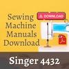 Thumbnail singer 4432 Sewing Machine Instruction and Service Manual