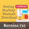 Thumbnail Bernina Record 730 Sewing Machine User and Service Manual