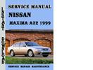 Thumbnail Nissan Maxima A32 1999 Service Repair Manual Pdf Download
