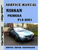 Thumbnail Nissan Primera P12 2001 Service Repair Manual Pdf Download