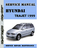 Thumbnail Hyundai Trajet 1999 Service Repair Manual Pdf Download