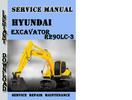Thumbnail Hyundai Crawler Excavator R290LC-3 Service Repair Manual Pdf