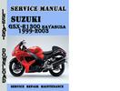 Thumbnail Suzuki GSX-R1300 Hayabusa 1999-2003 Service Repair Manual