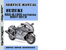 Thumbnail Suzuki GSX-R1300 Hayabusa 2007-2012 Service Repair Manual