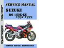 Thumbnail Suzuki RG 150E-ES 1997-1999 Service Repair Manual Pdf