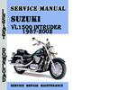 Thumbnail Suzuki VL1500 Intruder 1987-2002 Service Repair Manual Pdf