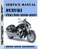 Thumbnail Suzuki Intruder VZR1800 2006-2007 Service Repair Manual Pdf