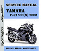 Thumbnail Yamaha FJR1300(N) 2001 Service Repair Manual Pdf Download