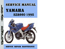 Thumbnail Yamaha SZR660 1995 Service Repair Manual Pdf Download
