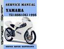Thumbnail Yamaha TZ125G1(G) 1995 Service Repair Manual Pdf Download