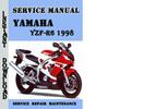 Thumbnail Yamaha YZF-R6 1998 Service Repair Manual Pdf Download