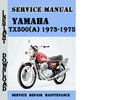 Thumbnail Yamaha TX500(A) 1973-1975 Service Repair Manual Pdf Download