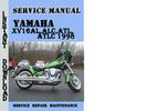 Thumbnail Yamaha XV16AL,ALC,ATL,ATLC 1998 Service Repair Manual Pdf
