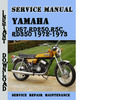 Thumbnail Yamaha DS7,RD250,R5C,RD350 1972-1973 Service Repair Manual