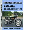 Thumbnail Yamaha RD250,RD400 1976 Service Repair Manual Pdf Download