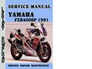 Thumbnail Yamaha FZR400SP 1991 Service Repair Manual Pdf Download