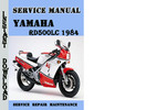 Thumbnail Yamaha RD500LC 1984 Service Repair Manual Pdf Download