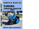 Thumbnail Yamaha YS828TM,YS624TM 1987 Service Repair Manual Pdf